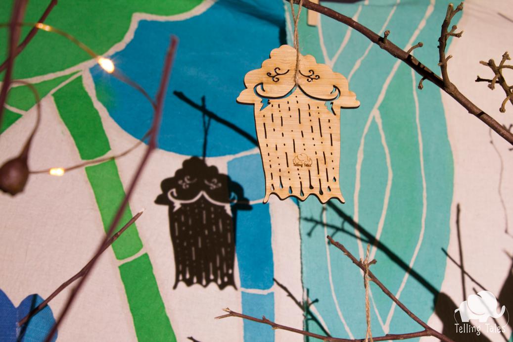 Monsoon shadow puppet